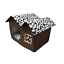 thumbnail 11 - Pet-Cat-Dog-House-Kennel-Puppy-Cage-Warm-Cushion-Soft-Bed-Sleeping-Cave-Nest-Den
