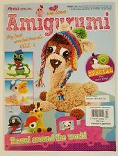 We Love Amigurumi Best Crochet Friends Travel World Vol 2 2016 FREE SHIPPING JB