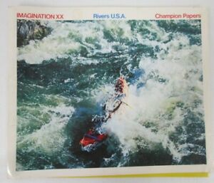 Imagination-XX-Rivers-USA-Champion-Papers-International-Paper-Sample-1976-Book