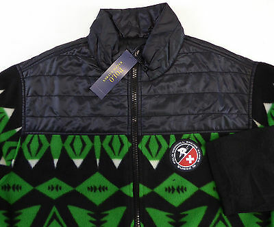 7 Ralph Lauren Polo Boys Ski Diamond Fleece Full Zip Jacket
