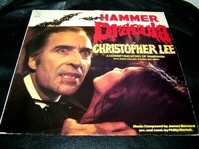 Very Rare Hammer Horror DRACULA Christopher Lee 1974 UK LP ...