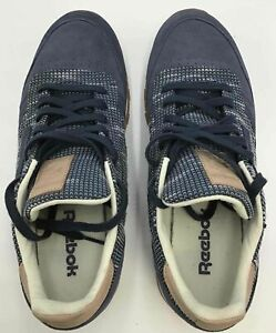Men's Reebok Classics Leather Ebk BS7851 -Smoky Indigo/Cloud Grey- Size 11