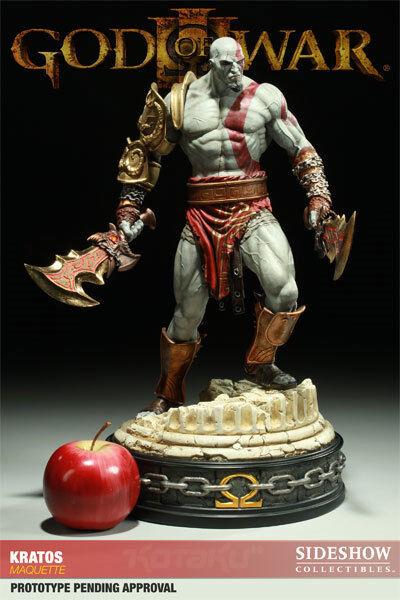Statue Sideshow Kratos