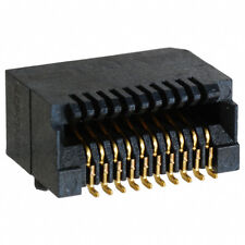 Tyco SFP Connector 20 Positions 1367073-1 Gold ).8mm SMT