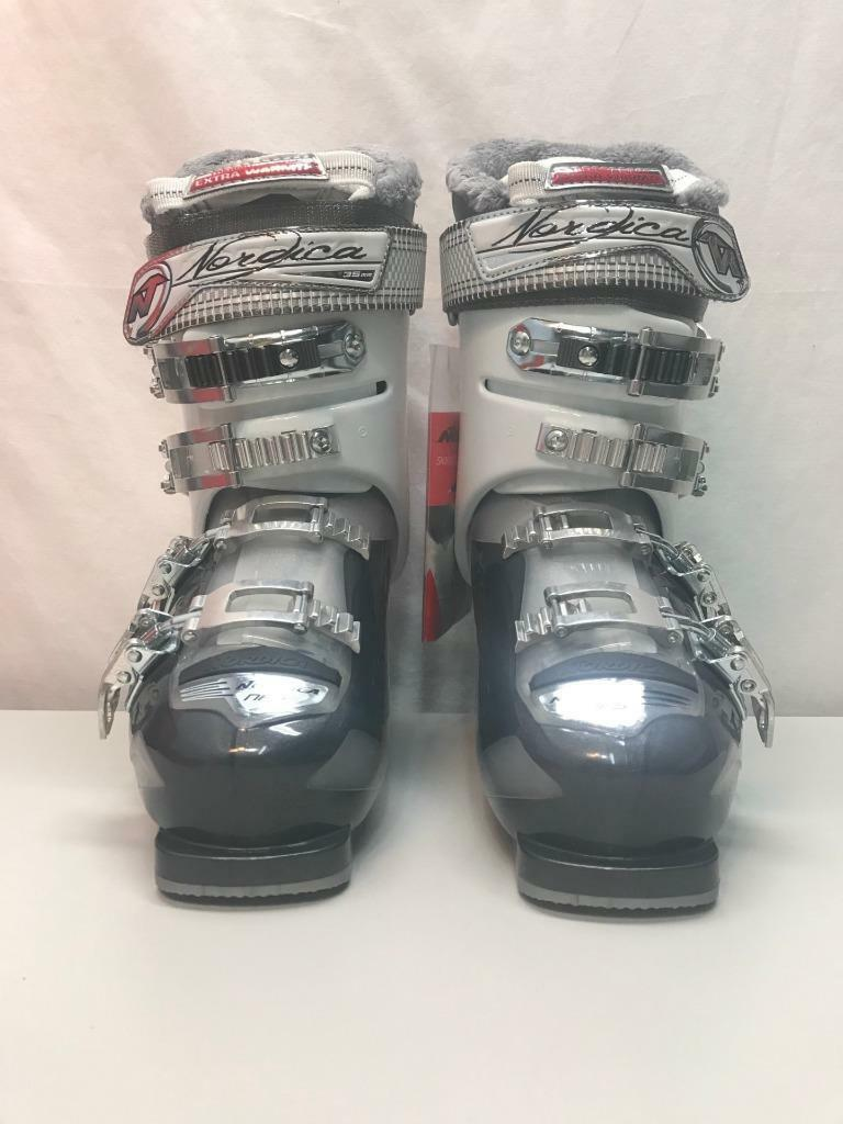 Nordica Women Cruise 85 Snow Ski Boots Anthracite Size 25, 7.5 US  NEW