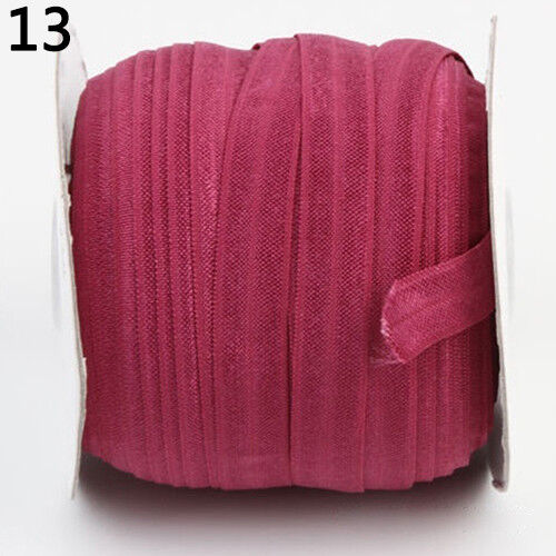 LC/_ 5YARD ELASTIC BAND SOLID STRETCH SEWING APPLIQUE CRAFT ACCESSORY BAND DAIN