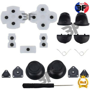 Ps4 Manette Conductive Pad Caoutchouc+joystick Boutons*20pc Accessoire*boneuf*3f