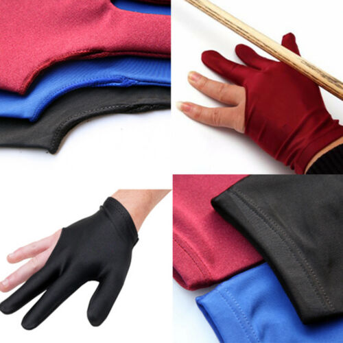 Pool billiards glove tail shooter spandex glove finger 3 left handed