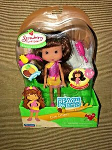 Details About New 2007 Playmates Strawberry Shortcake Beach Sweeties Coco Calypso Doll Rare