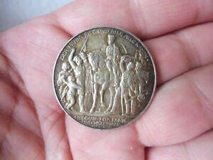 Belle, vieux Pièce de Monnaie, 3 Mark, Avec Dieu Pour Roi Et Vaterland, 1913