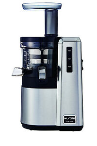 Hurom Alpha Premium Slow Juicer Haa Bbf17 : NEW Hurom H25 Alpha Slow/Cold Press Juicer: Stainless Steel eBay