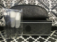 Mac Keepsakes / Mac In Extra Dimension 4 Pc. Brush Set + Makeup Bag Boxed