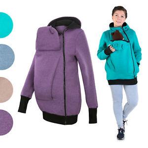 1c312fdb2 Babywearing sweatshirt carrier babycarrying jacket cotton Kangaroo ...