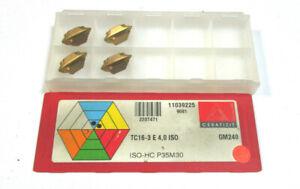 10 Stück Wendeplatten XOMT07T304SN CCN1430 von Ceratizit neu OVP