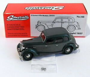 Somerville-Models-1-43-Scale-148-1937-Rover-P-2-6-Light-2-Tone-Green