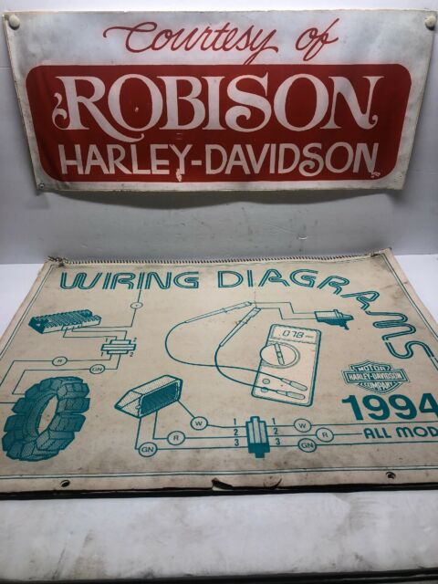 Harley Davidson 1994 Dealer Wiring Diagrams Part  99949