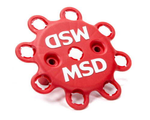 Each Red MSD Distributor Wire Retainer MSD HEI Style Plastic