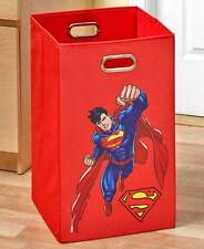 Licensed super hero batman laundry hamper colorful superman kids hamper ebay - Superhero laundry hamper ...