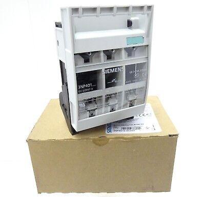 Siemens 3np4010-0ch01 sicherungslasttrennschalter switch disconnector 160a 3-pol