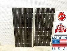 6- 160  Watt 12 Volt Battery Charger Solar Panel Off Grid RV Boat 960 watt total