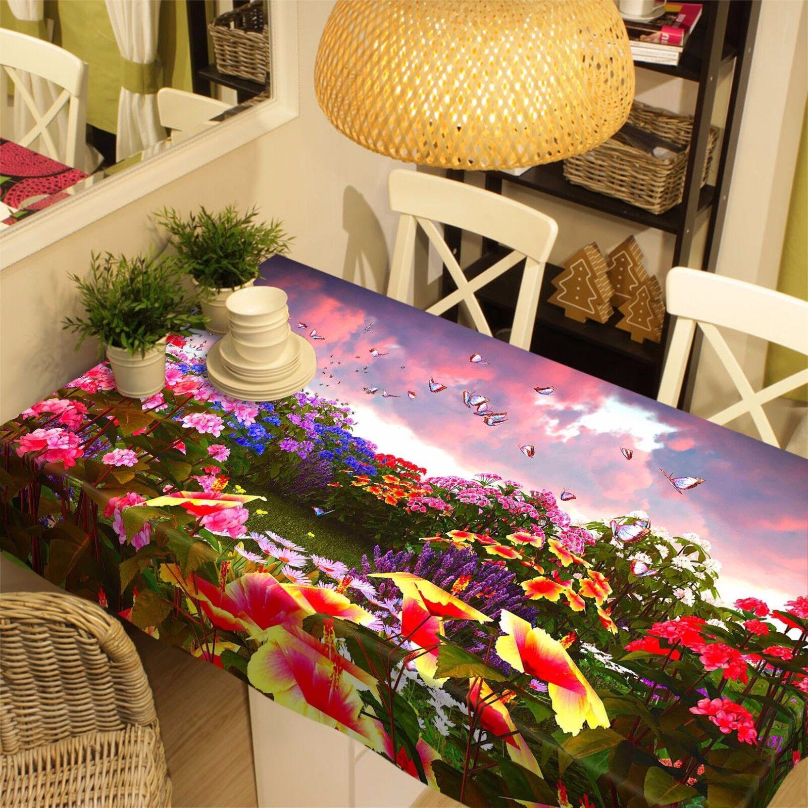 Campo 3D 902 Mantel Mantel Paño Fiesta de Cumpleaños Evento AJ Wallpaper