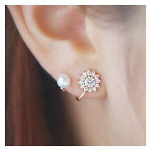 Fashion-Crystal-Pearl-Ear-Stud-Earrings-Women-Lady-Jewelry-Gift-Party-Wedding