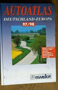 Auto Atlas Deutschland - Europa 97/98 Falkverlag ISBN 3-86047-602-5 - Deutschland - Auto Atlas Deutschland - Europa 97/98 Falkverlag ISBN 3-86047-602-5 - Deutschland