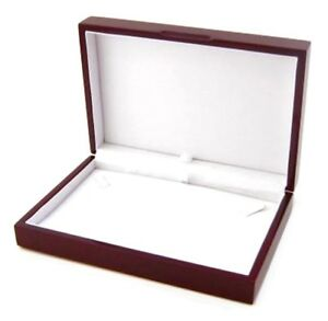 Details About 1 Rosewood Small Necklace Pendant Or Chain Jewelry Display Gift Box