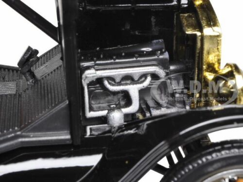1925 FORD MODEL T PADDY WAGON BLACK 1//24 DIECAST MODEL CAR BY MOTORMAX 79316
