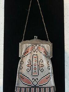 1920 mesh whiting davis bag How to