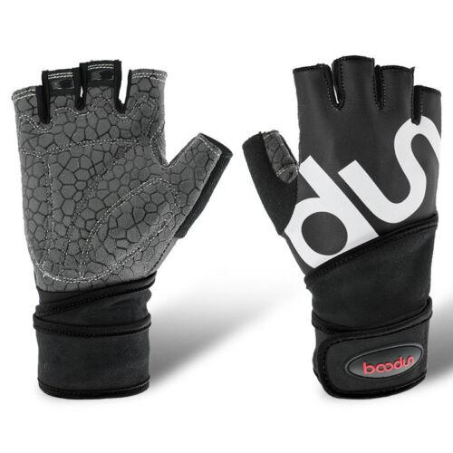 Hot Men Women Weight Lifting Gloves Fitness Gym Training Yoga Wrist Wrap Gloves