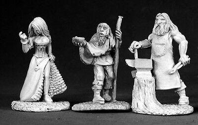 Townsfolk II 02584 - Dark Heaven Legends - Reaper MiniaturesD&D Wargames