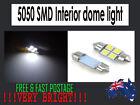 31mm 4 SMD 5050 LED 12V LED Festoon Car Bright Interior Dome Light Bulb Genuine
