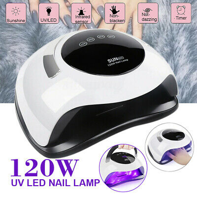 120w Nail Lamp Uv 36 Led Light Auto Dual Light Source Uv Led Lamp