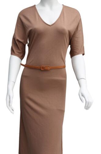 Ladies Women Fashion Skinny Leather Thin Waist Belt UK Fast Shipping