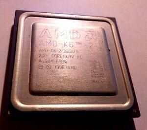CPU-Processeur-AMD-AMD-K6-2-366AFR-Socket-7-366-Mhz-32-Ko