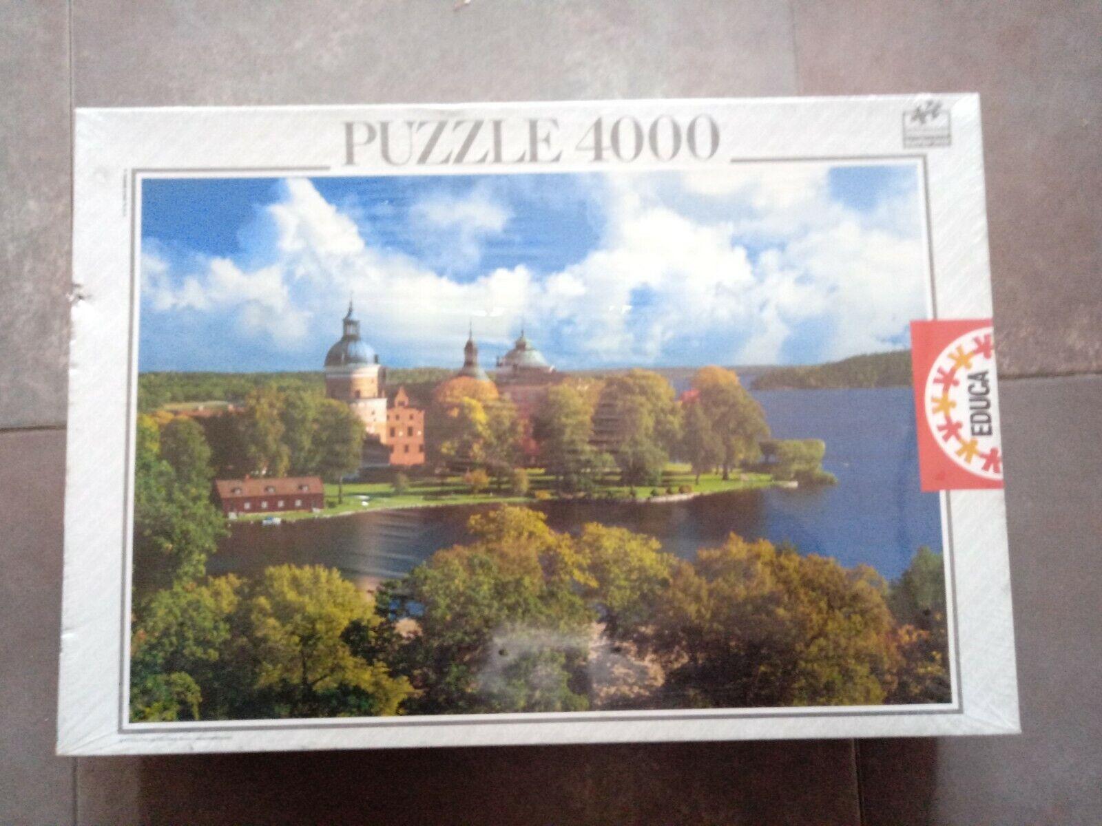 PUZZLE 4000 EDUCA  IMAGEN DROTTNINGHOLM SUECIA  136 X 96 CM. NUEVO SIN ABRIR