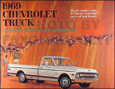 FORD 1969 TRUCK Sales Brochure 69 Pick Up