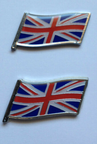 mg austin 45 75 2 Rover Union Jack badges Rover City Rover 25