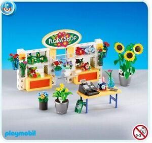 NEW-Playmobil-7496-Flower-Shop-Interior-Flora-Flowers-Garden-Add-On-Bag-Sealed