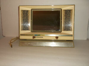 Vanity Mirror With Lights Sears : Retro 70 s Lighted Make-up Mirror for All Times Sears eBay