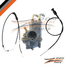 Yamaha PW 50 PW50 Carburetor Throttle Gas Cable and Choke Cable 2003-2013