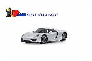 Jamara 404589 - Porsche 918 Spyder 1:24 Argent 40 Mhz