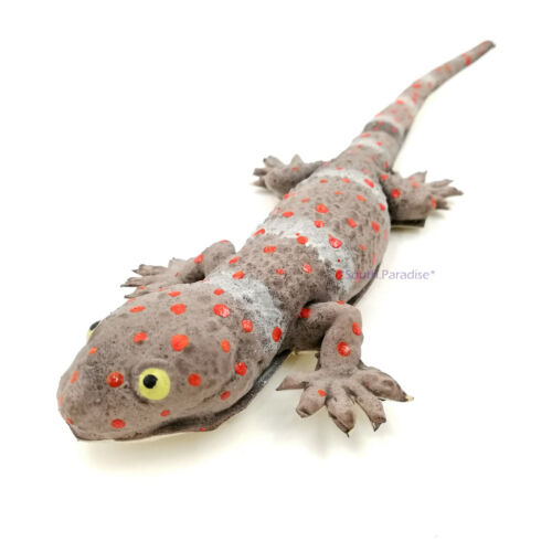 Rubber Gecko Fake Lizard Toy Joke Reptile Funny Decorate Simulation Soft Animal