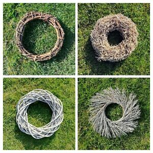 Natural-Willow-Twig-Ring-Woven-Wreath-Wall-Hanging-Wreaths-Circle-Round-Rustic