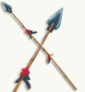 indianerspeer 100 cm indianer speer indianerwaffe zubeh r f r kost m 125767013. Black Bedroom Furniture Sets. Home Design Ideas