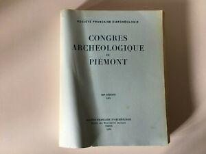 Congresso Archeologico Di Francia 129e Session 1971 Del Piemonte