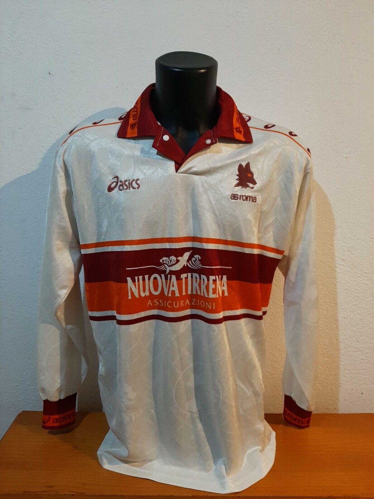 camiseta shirt vintage diadora AS Roma talla XL