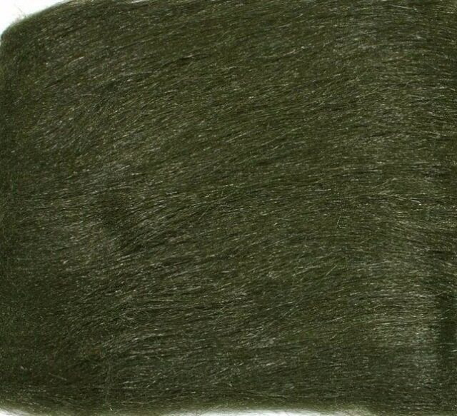 Grey Olive Fly Tying Hareline Extra Select Craft Fur