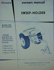 Sears Plow Sweep Holder Garden Tractor Implement Owner Amp Parts Manual 917251090